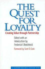 The Quest for Loyalty (Hardcover, 1996)
