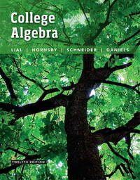 College Algebra (12th Edition)