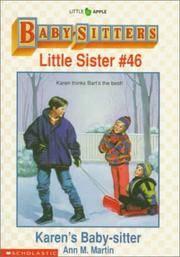 image of Karen's Baby-Sitter (Baby-Sitters Little Sister #46)