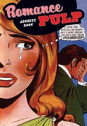 Romance Pulp Address Book