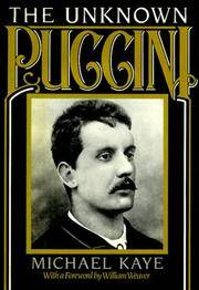 The Unknown Puccini: A Historical Perspective on the Songs Including Little-Known Music from...