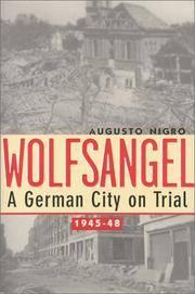Wolfsangel : A German City on Trial 1945-48