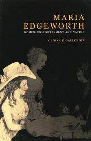 Maria Edgeworth: Women, Enlightenment and Nation