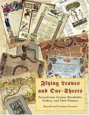 F;uomg :reaves amd Pme-Sheets: Pennsylvania German Broadsides, Raktur, and Their Printers