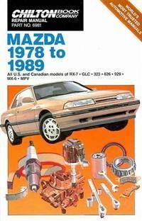 Chilton Repair Manual - Mazda 1978 to 1989