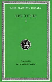 Epictetus: Discourses, Books 1-2 (Loeb Classical Library) by Epictetus - Hardcover - from Bonita (SKU: 0674991451.X)