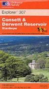 image of Consett and Derwent Reservoir (Explorer Maps)
