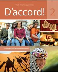 D'Accord 2 - includes Student Edition, vText w/ Supersite & Cahier Interactif Code