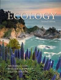 Ecology by Michael L. Cain; William D. Bowman; Sally D. Hacker - Hardcover - 2011-03-02 - from SGS Trading Inc (SKU: SKU0035763)