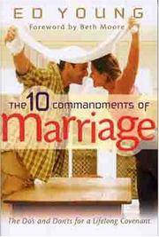 image of The Ten Commandments of Marriage