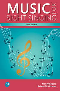 image of Music for Sight Singing: Books a La Carte Edition