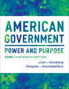 image of American Government: Power and Purpose (Thirteenth Core Edition (without policy chapters))