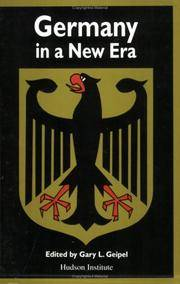 GERMANY IN A NEW ERA