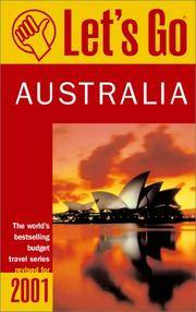 Let's Go 2001: Australia: The World's Bestselling Budget Travel Series