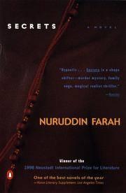 Secrets by  Nuruddin Farah  - Paperback  - Signed  - 1999  - from BobPrudhomme, Relentless Bookfinder (SKU: 19488)