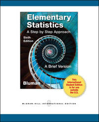 Elementary Statistics: a Brief Version With CD and Formula C by Allan Bluman - Paperback - 2012-01-01 - from Ergodebooks (SKU: DADAX0071315454)