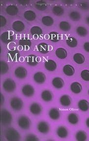Philosophy God and Motion
