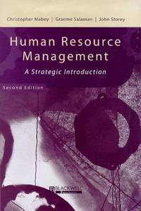 image of Human Resource Management: A Strategic  Introduction (Management, Organizations and Business)