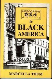 Hippocrene U.S.A. Guide to Black America