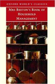 Mrs Beeton's Book of Household Management (Oxford World's Classics)