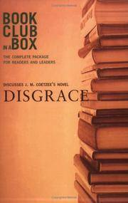 image of Bookclub-in-a-Box Discusses Disgrace, the Novel by J.M. Coetzee
