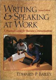 Writing and Speaking at Work (2nd Edition)
