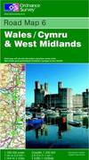 image of Wales and West Midlands (Road Map)