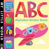 ABC ALPHABET STICKER BK by LITTON JONATHAN