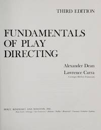 image of Fundamentals of play directing