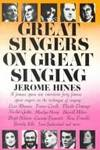 image of Great Singers on Great Singing