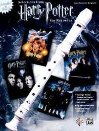 Harry Potter Recorder Songbook (Book Only)