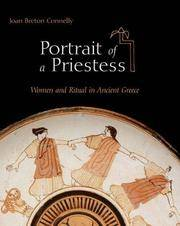 Portrait of a Priestess: Women and Ritual in Ancient Greece.