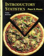 INTRODUCTORY STATISTICS : 3rd Edition