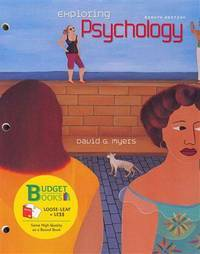 image of Exploring Psychology (Budget Books)