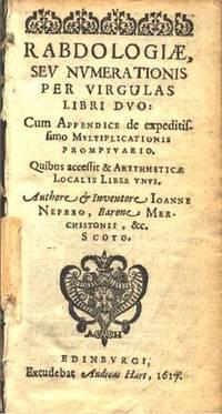Rabdology (Charles Babbage Institute Reprint)