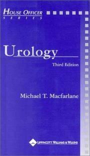 Urology (House Officer Series)
