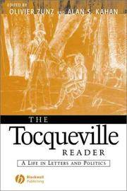 image of The Tocqueville Reader: A Life in Letters and Politics