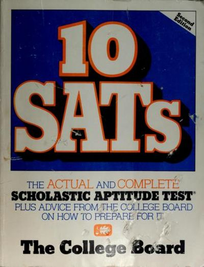 a discussion on taking scholastic aptitude tests