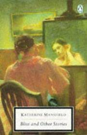 image of BLISS AND OTHER STORIES (TWENTIETH CENTURY CLASSICS)