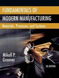 image of Fundamentals of Modern Manufacturing: Materials, Processes, and Systems