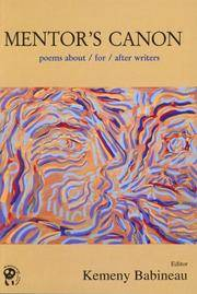 Mentor's Canon: Poems About/For/After Writers