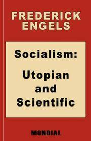 image of Socialism: Utopian and Scientific (Appendix: The Mark. Preface: Karl Marx)