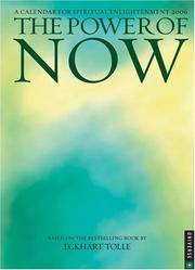 image of The Power of Now: 2006 Engagement Calendar