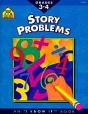 Story Problems 3-4 (I Know It! Books)