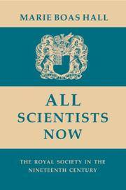 All Scientists Now. The Royal Society in the Nineteenth Century