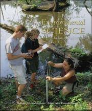 image of Principles of Environmental Science: Inquiry and Applications