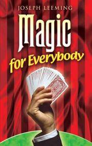 image of Magic for Everybody (Dover Magic Books)