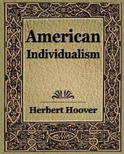 American Individualism