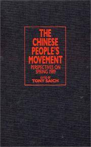 The Chinese PeopleÕs Movement