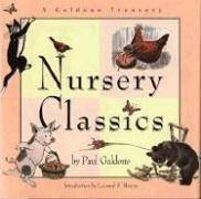 image of Nursery Classics: A Galdone Treasury-4 Stories in One volume-The Three Little Pigs, The Three Bears, The Little Red Hen, and Cat Goes Fiddle-i-Fee